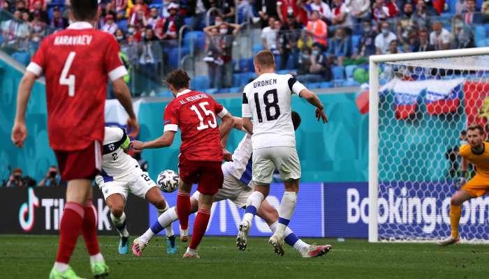 UEFA EURO 2020: ঘরের মাঠে রাশিয়া হারিয়ে দিল ফিনল্যান্ডকে