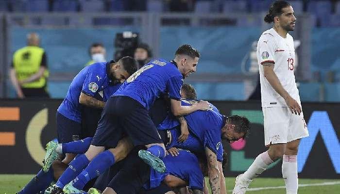 UEFA EURO 2020:সুইজারল্যান্ডকে হেলায় উড়িয়ে ইউরোর শেষ ষোলোয় ইতালি