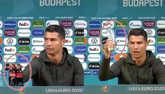Euro Cup 2020: সাংবাদিক সম্মেলনে স্পনসর আইটেম সরালে খেলোয়াড়দের জরিমানা করতে পারে UEFA
