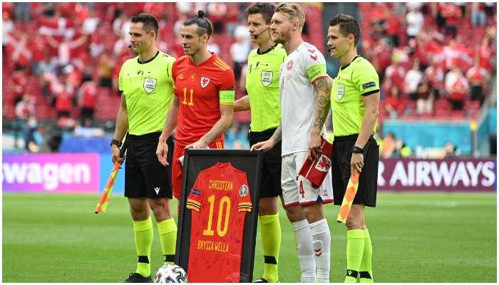 EURO 2020: হেরেও সবার হৃদয়ে Bale, অনন্য সম্মান জানালেন Christian Eriksen কে