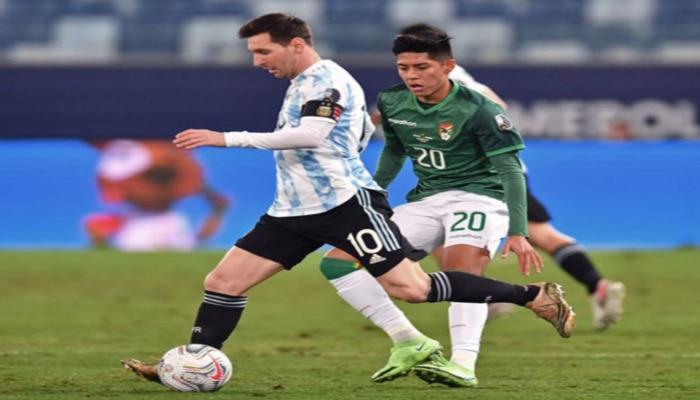 Copa America: Messi-র জোড়া গোলের ম্যাজিক, সঙ্গে নয়া রেকর্ড, নীল-সাদা ঝড়ে উড়ে গেল Bolivia
