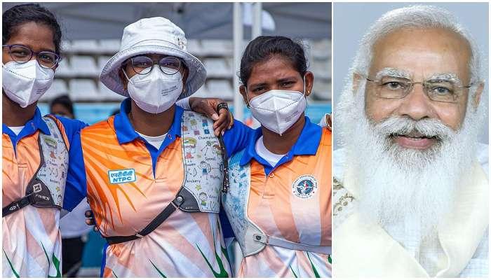 বিশ্বকাপে দুরন্ত পারফরম্যান্সের জন্য Deepika Kumari দের ভূয়সী প্রশংসায় PM Modi