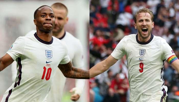UEFA EURO 2020: Raheem Sterling ও Harry Kane এর গোলে শেষ আটে England