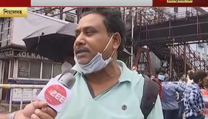 Continued bus-misery, no private bus seen since morning, few official buses in hand, Sealdah-Dharmatala Live