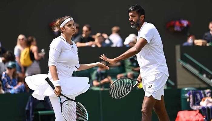 Wimbledon 2021: Sania Mirza ও Rohan Bopanna মিক্সড ডাবলস থেকে ছিটকে গেলেন