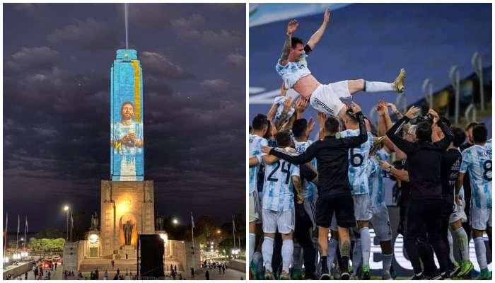 রোজারিও জানতো তাদের ভূমিপুত্র পারবেই, ফাইনালের আগেই জন্মভিটেতে Messi কে বিরল সম্মান
