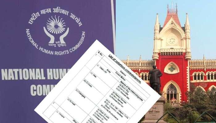 মমতার নির্বাচনী এজেন্ট থেকে মন্ত্রী, হাইকোর্টে 'কুখ্যাত দুষ্কৃতী' তালিকা দিল NHRC