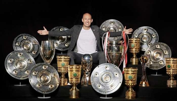 সব রকমের ফুটবল থেকে অবসর নিলেন ডাচ মহাতারকা Arjen Robben