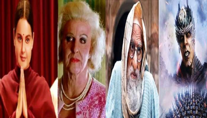 Amitabh, Kangana থেকে Hrithik, চরিত্রের প্রয়োজনে প্রস্থেটিকে বদলে গিয়েছিলেন যাঁরা