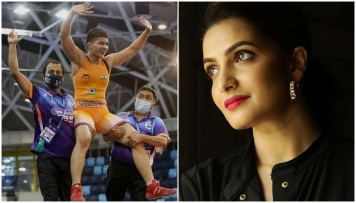 Priya Malik কে 'অলিম্পিক্স সোনা' জিতিয়ে বিতর্কে অভিনেত্রী Tanusree Chakraborty!