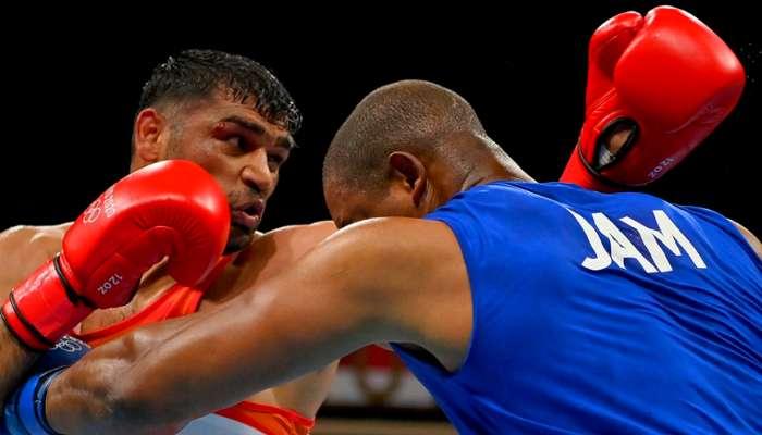 Tokyo Olympics 2020: বক্সিংয়ের শেষ আটে ভারতের  Satish Kumar, পদক থেকে এক ধাপ দূরে