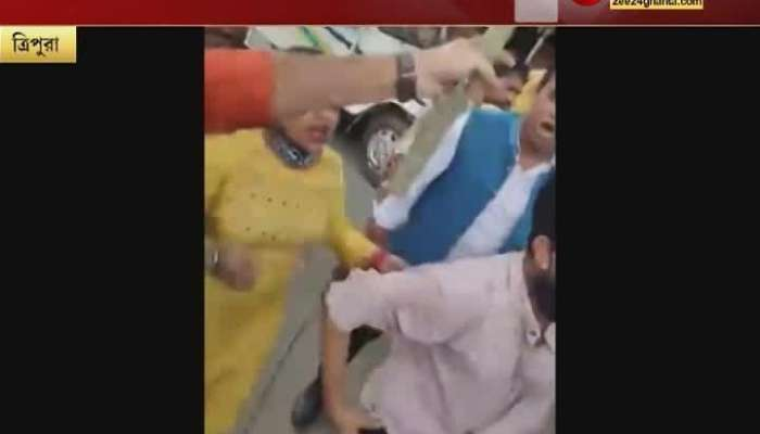 TMC leader Debangshu Bhattacharya 'attacked' in agartala