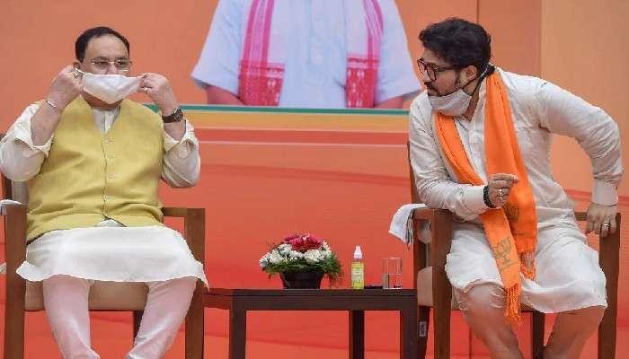 Babul-এর মানভঞ্জনে তৎপর BJP, আজ বৈঠক করবেন JP Nadda