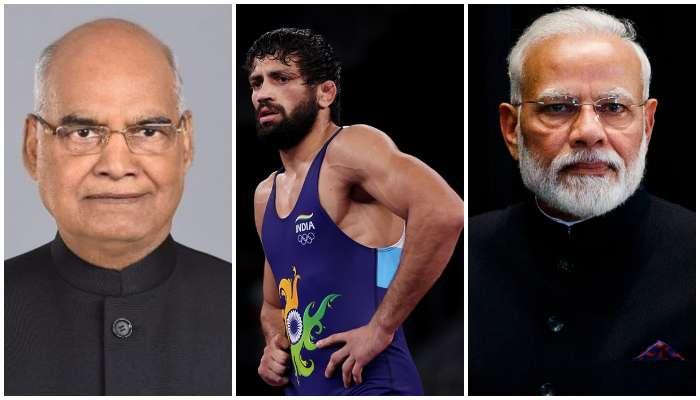 Ravi Dahiya: রুপো জয়ের জন্য রবি দাহিয়াকে শুভেচ্ছা, টুইট করলেন PM Modi, Kovind