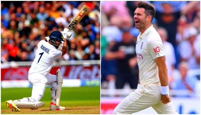 Rahul র ব্যাটে প্রথম ইনিংসে ২৭৮ ভারতের, Kumble কে টপকে Anderson র টেস্ট নজির