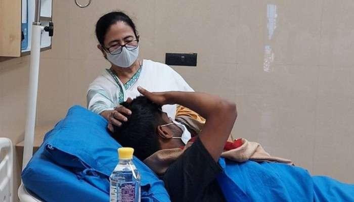 Tripura: সুদীপের মাথায় 'স্নেহের হাত' মমতার, হাসপাতাল থেকে ফোন দেবাংশুকে
