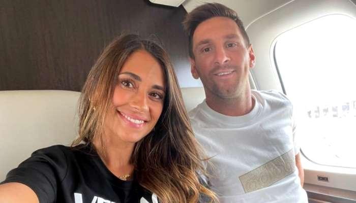 Messi: ছেলে যাচ্ছেন প্যারিসেই, জানালেন বাবা, বিমানে স্ত্রীর সঙ্গে ছবি শেয়ার মেসির
