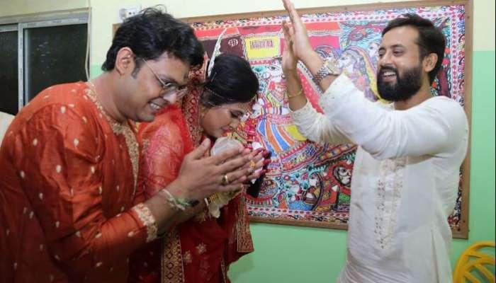 'রামকৃষ্ণ'-র উপস্থিতিতে বিয়ে করলেন ভাগ্নে 'হৃদয়' বৌভাতে আসবেন 'রাণীমা'