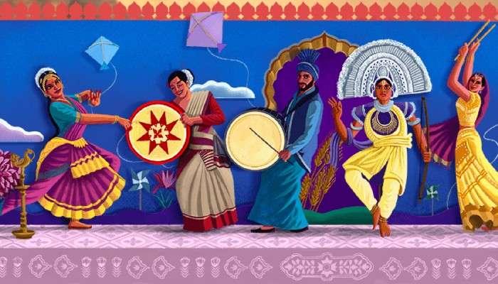 Independence Day 2021: বৈচিত্রের মধ্যে ঐক্যের সুর গুগল ডুডলে