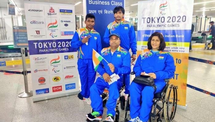 Tokyo Paralympics 2020: ইতিহাস গড়তে টোকিও পৌঁছল ভারতের প্রথম প্যারা-অ্যাথলিট দল