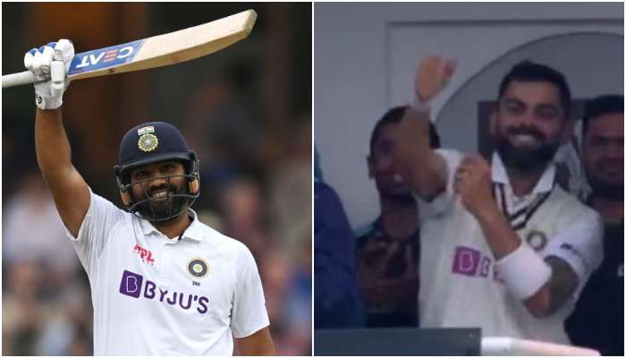 IND vs ENG: Rohit Sharma র সেঞ্চুরি, উচ্ছ্বসিত Virat Kohli, রইল ভাইরাল ভিডিয়ো