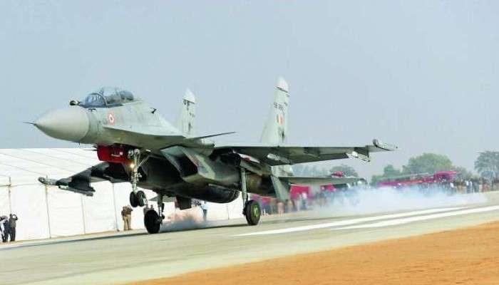 IAF: Pakistan-এর ঘাড়ের কাছে নামল সুখোই যুদ্ধবিমান, ইতিহাস লিখল Indian Air Force