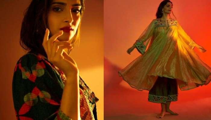 Sonam Kapoor: খালি পায়ে ফটোশ্যুট, এথনিক পোশাকে হয়ে উঠলেন ম্যাগাজিনের কভার গার্ল