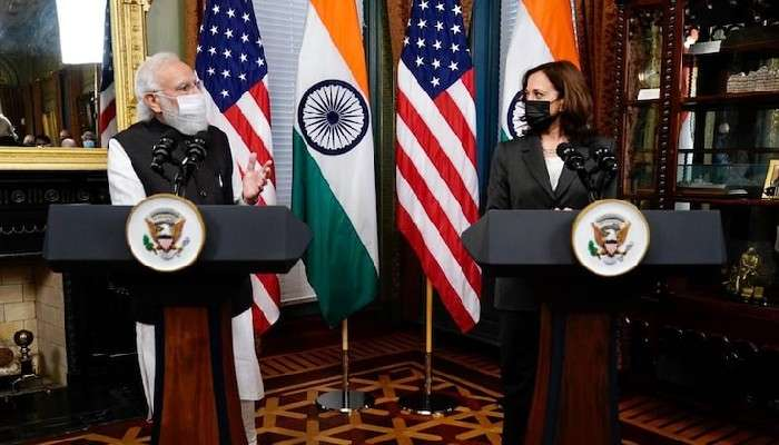 Modi in US: মোদী-Kamala Harris সাক্ষাৎ, সন্ত্রাসবাদ নিয়ে মার্কিন ভাইস প্রেসিডেন্টের মুখে পাকিস্তানের নাম