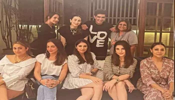 Bollywood: Manish Malhotra-র বাড়িতে তারকার হাট, পার্টিমুডে লেন্সবন্দি Karishma,Malaika,Karan