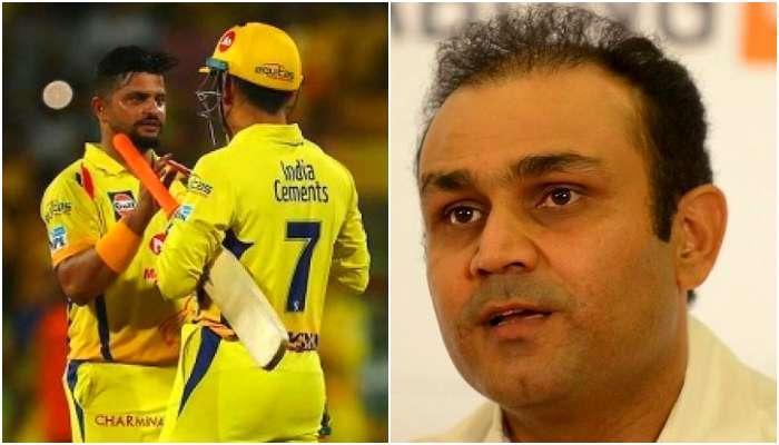 IPL 2021: 'ফর্মে নেই রায়না, তবুও বসাবে না ধোনি'! বলছেন শেহওয়াগ
