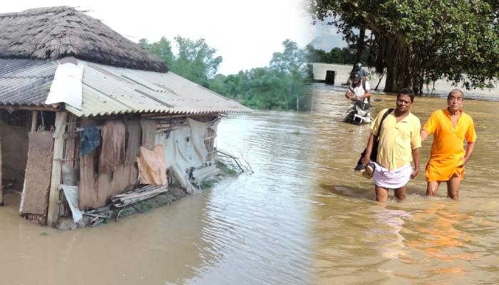 Flood in Ghatal: ভারী বৃষ্টিতে ঘাটালে বন্যা পরিস্থিতি, প্লাবিত একাধিক গ্রাম, মৃত এক শিশু