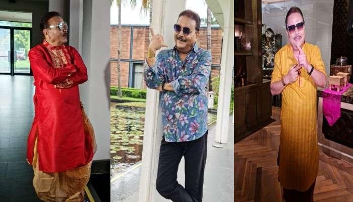 Pujor Fashion: ওহ লাভলি! জি ২৪ ঘণ্টার ফ্যাশন ফটোশুটে রঙবাহারি Madan Mitra