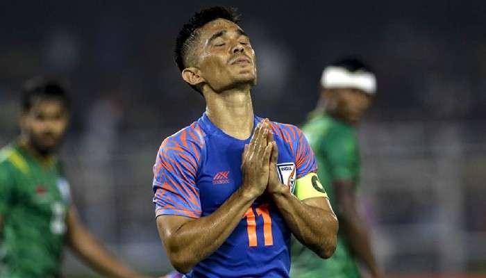 SAFF Cup, IND vs BAN: Sunil Chhetri-র গোলের পরেও ১০ জনের বাংলাদেশের কাছে আটকে গেল ভারত