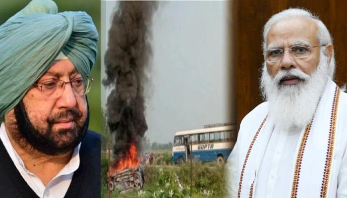 Lakhimpur Kheri: সতর্কত হন! কৃষক বিক্ষোভের ফায়দা তুলতে পারে Pakistan, Modi-কে চিঠি Amarinder-এর