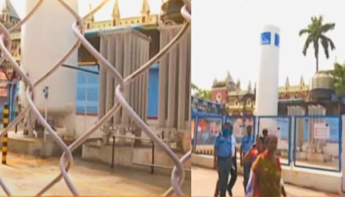 Oxygen Leak: সদ্য নির্মিত প্ল্যান্ট থেকে অক্সিজেন লিক! NRS হাসপাতালে চাঞ্চল্য