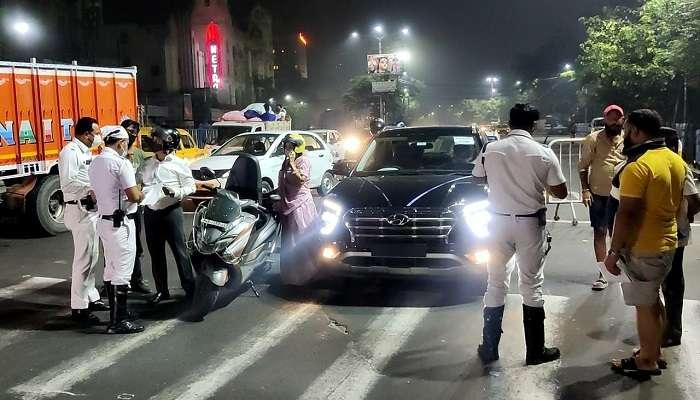 Covid 19: কলকাতায় কড়া Night Curfew, রাতভর চলল নাকাচেকিং